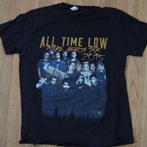 Other - All Time Low Future Hearts Tour Shirt Black 2015